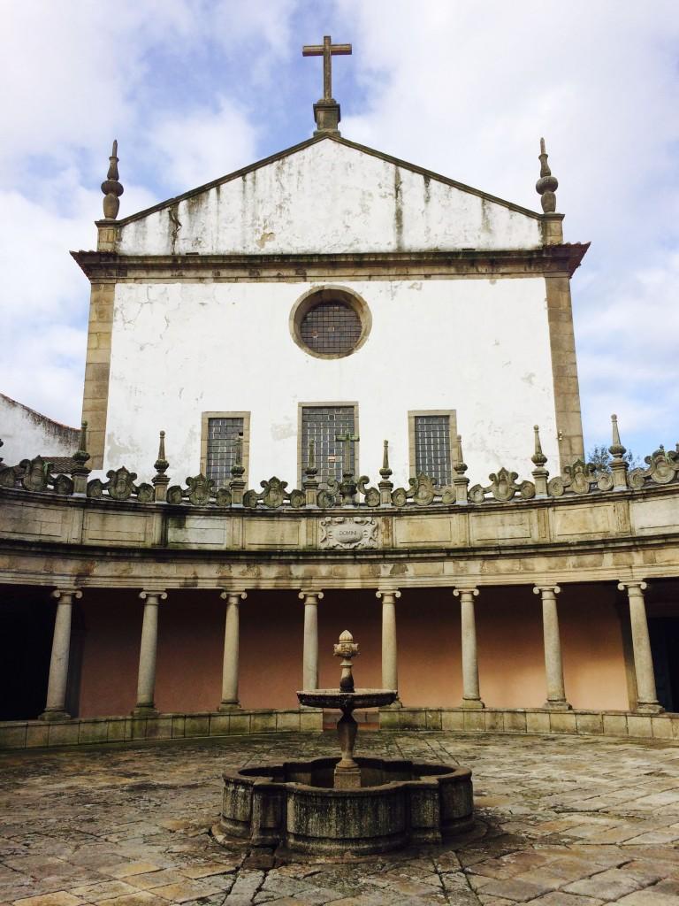 Claustro do Mosteiro da Serra do Pilar