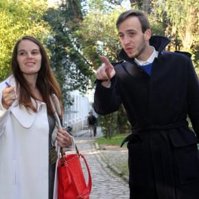 Em visita guiada à FBAUP com Luís Nunes, curador do Museu da faculdade