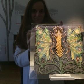 Bordalo Pinheiro azulejo Museu Arte Nova