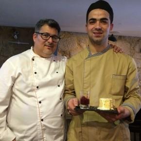 Casa Garrett - Chef Alex Pereira com ajudante André