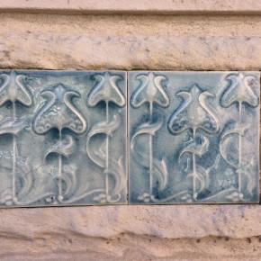pormenor azulejo Museu Arte Nova