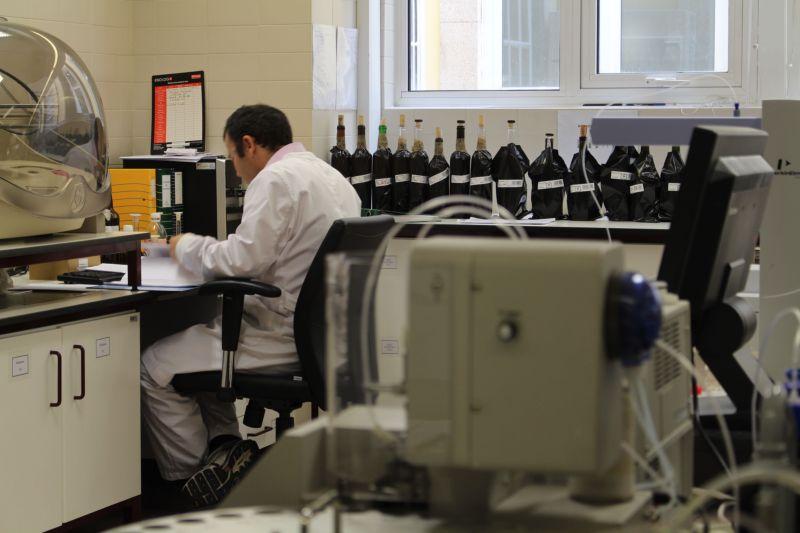 IVDP Laboratorio Garrafas com manga preta