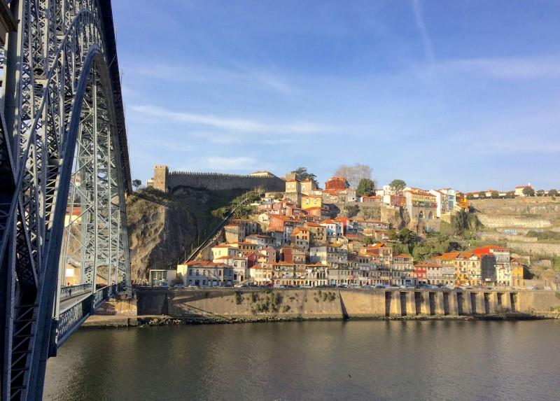Ponte Luis I e Vista do Porto