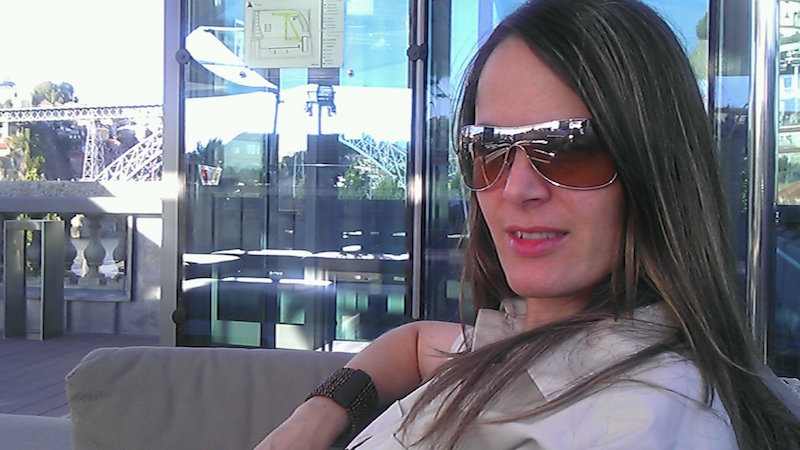 Vera Dantas no Terrace Lounge da Porto Cruz