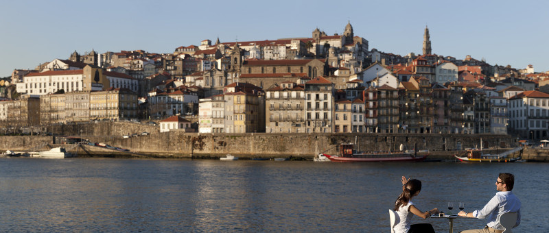 Vista do Porto - Fotografia da autoria do Porto Visitors Center Bureau