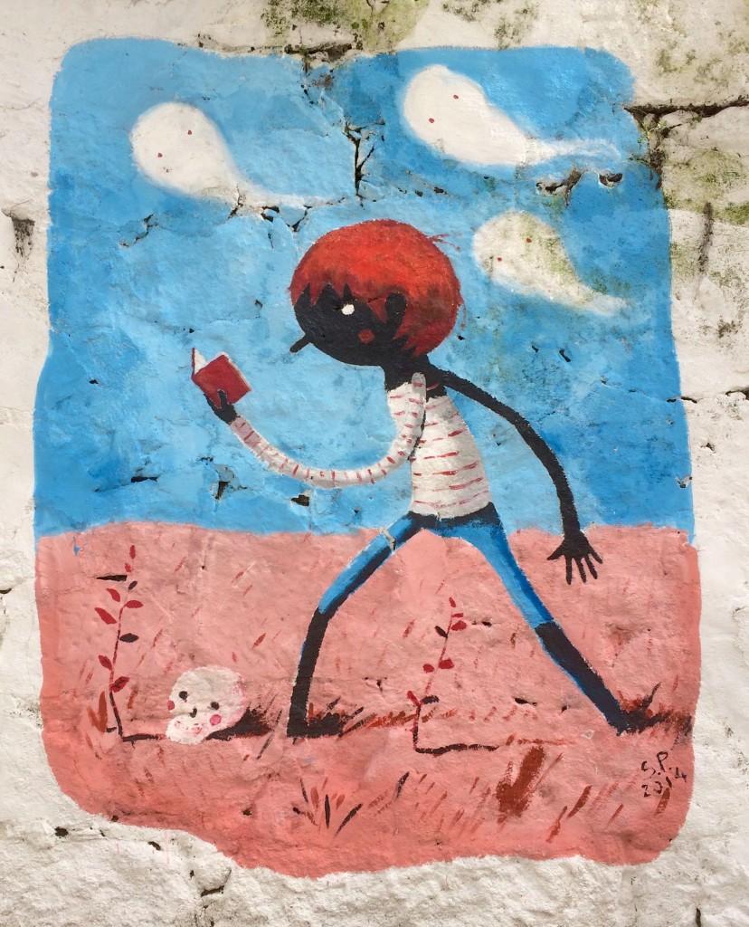 Street Art S.P. Rua Miguel Bombarda, Porto