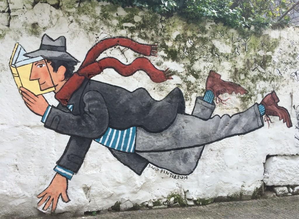 StreetArt David Pintor na Rua Miguel Bombarda do Porto