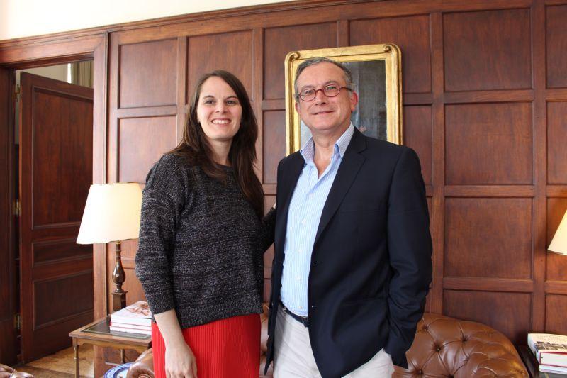 Vera Dantas e Manuel de Novaes Cabral no IVDP