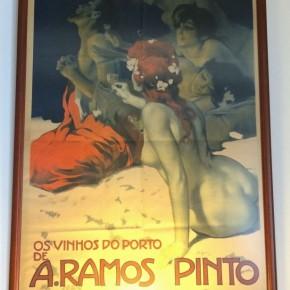 Cartaz Tentação De Santo Antão da Ramos Pinto