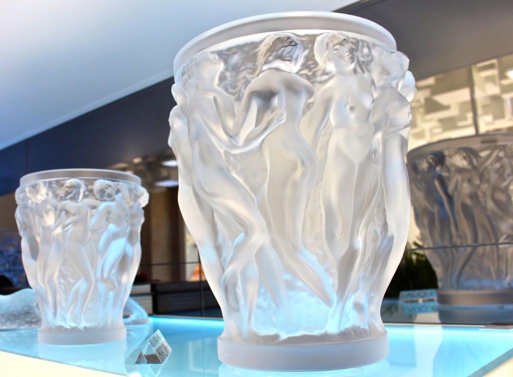 Jarras Lalique na Toujours Maison