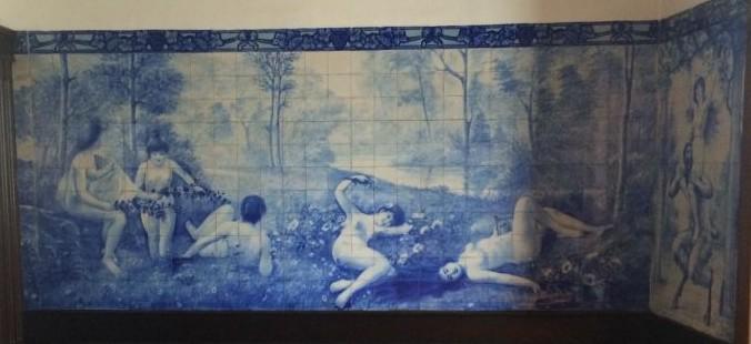 Paineis de Azulejos Casa Ramos Pinto