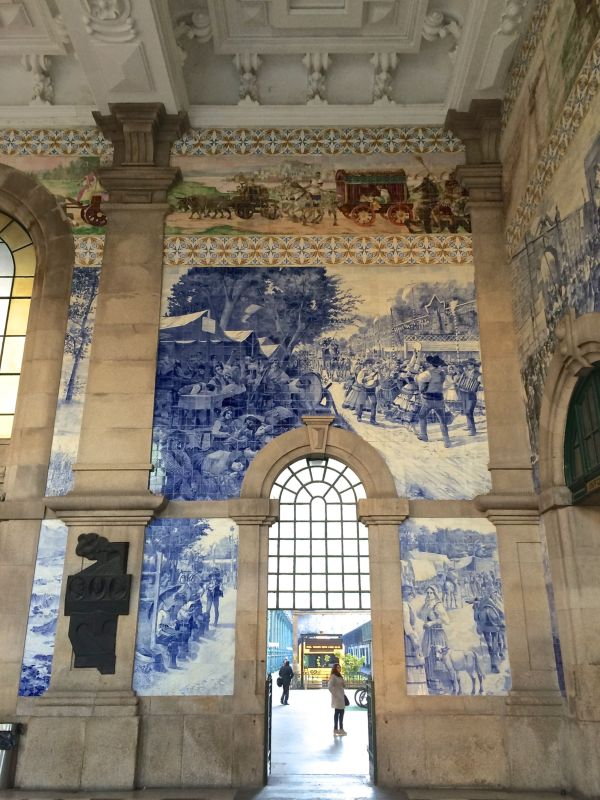 Estação de São Bento Azulejos