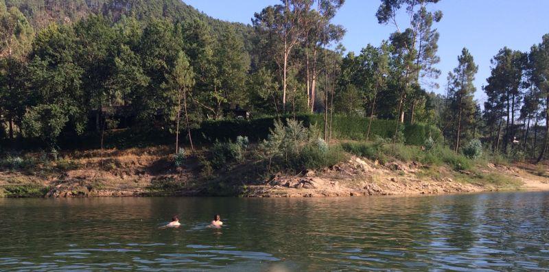 Nadar até à Pensínsula de Vilar da Veiga no Gerês