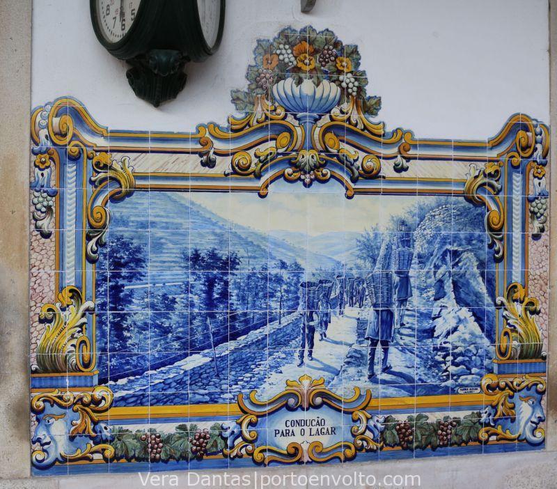 Estação Do Pinhão Painel De Azulejos