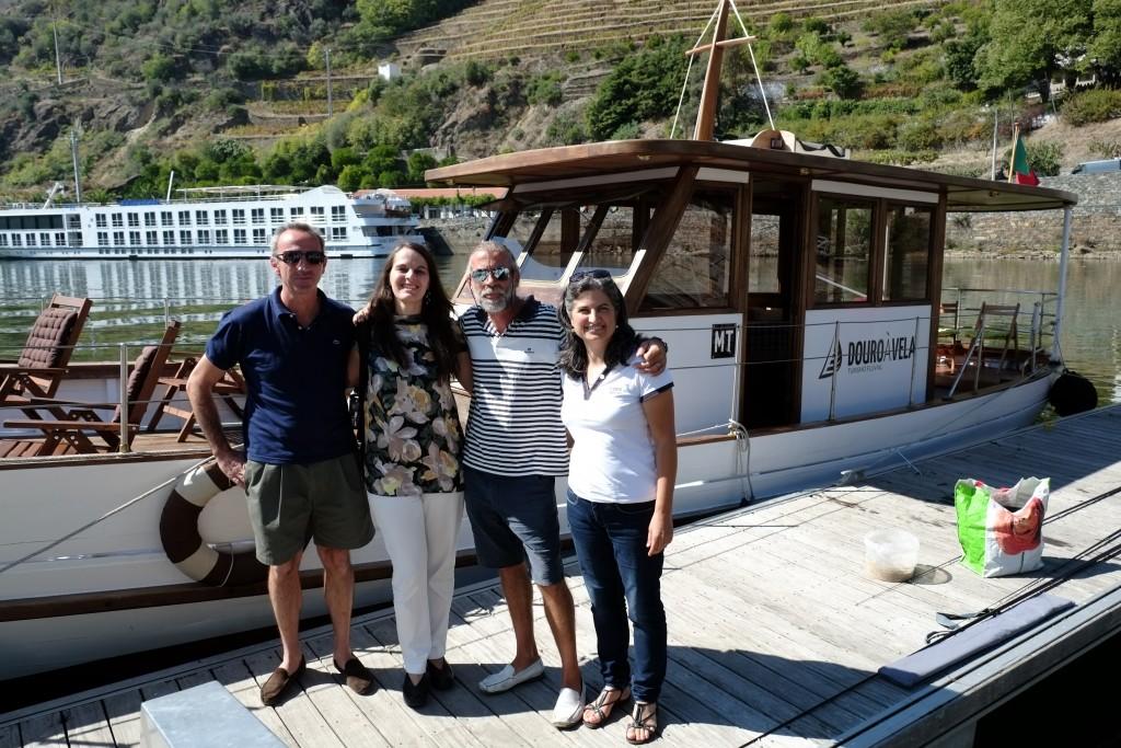 Vera Dantas com Douro à Vela e Porto e Douro Moments