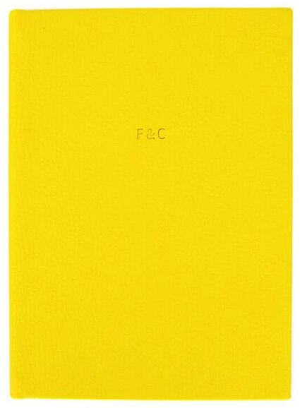 Sharp Yellow Diary Cover