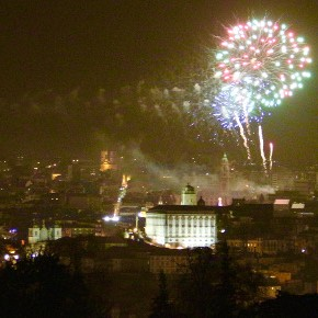 New Year's Eve Fireworks in Porto 2016