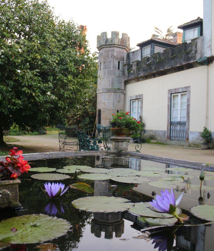 Villar d'Allen nenufar fountain