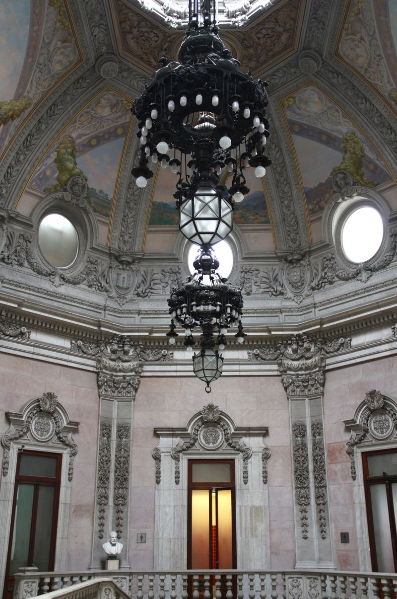 Palacio da Bolsa Grand Staircase Dome