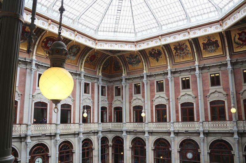 Palacio da Bolsa Patio das Nacoes