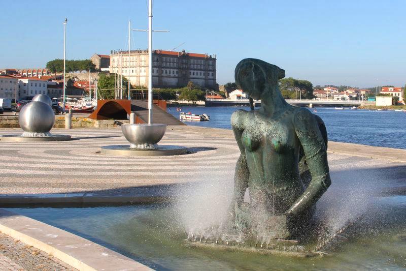 Vila do Conde Escultura Sereia