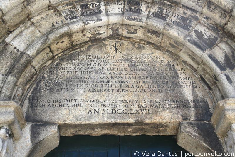 Igreja da Cedofeita Timpano por Vera Dantas
