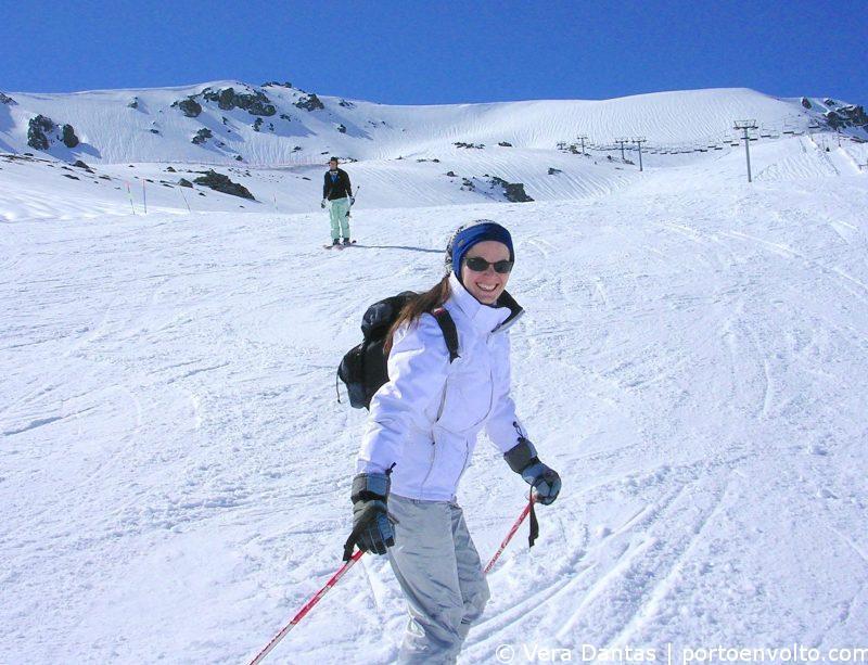 Vera Dantas no ski