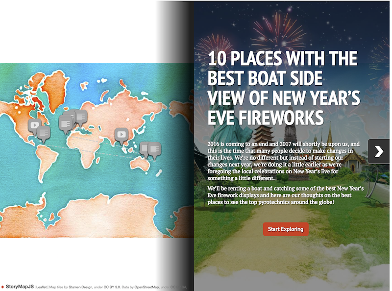 Sailology Interactive Map 10 Best Places to catch NYE fireworks from a boat