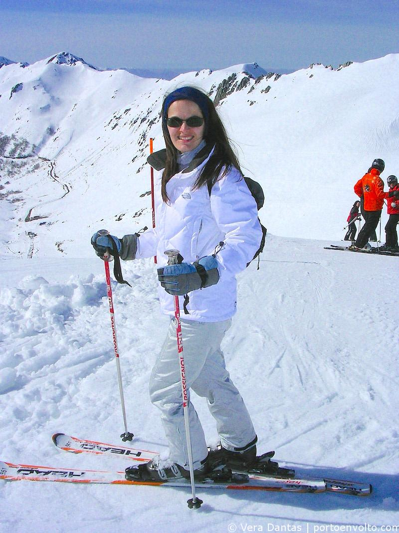 Vera Dantas ski San Isidro