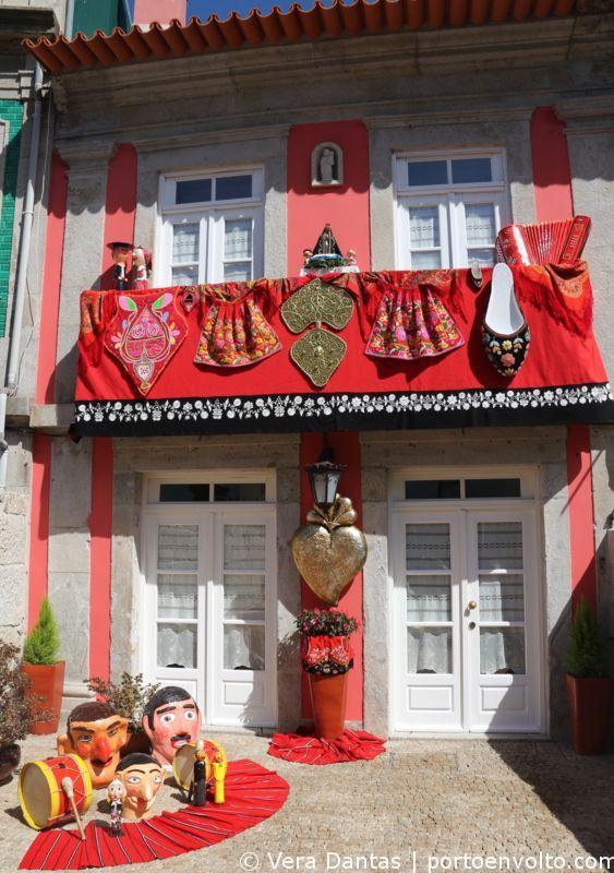 Viana do Castelo casa enfeitada