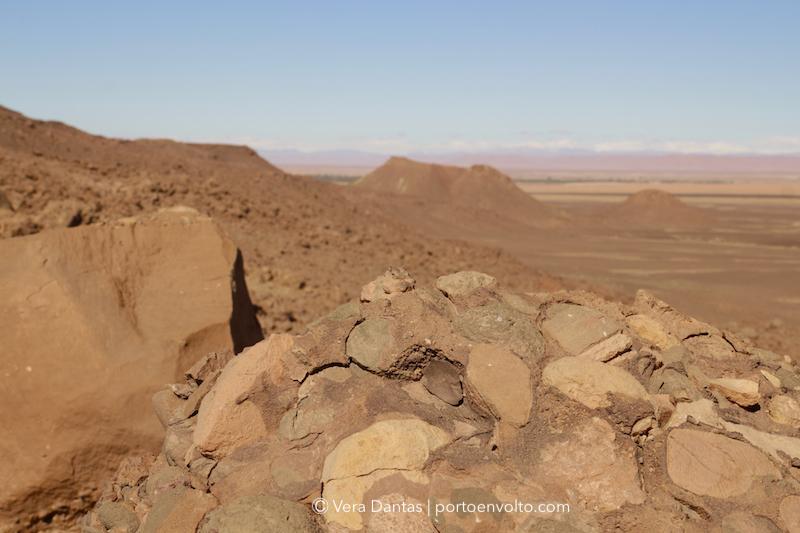 Morocco rocky landscape