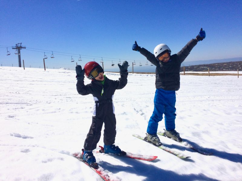 Serra da Estrela Ski com crianças