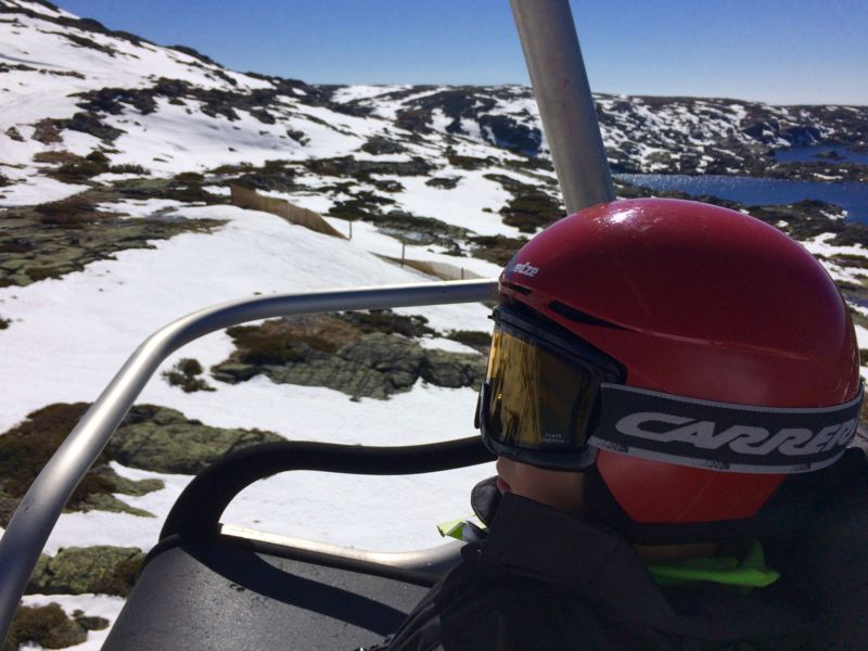 Estância de Ski da Serra da Estrela Telecadeira