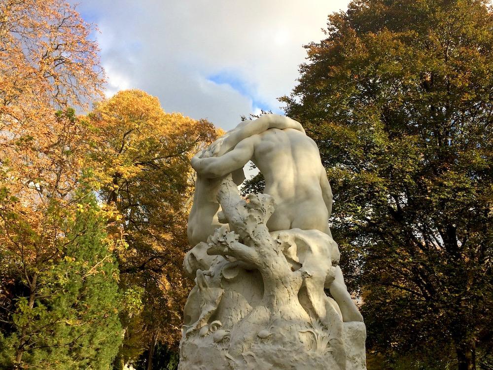Jardin du Luxembourg Joies de la Famille statue by Vera Dantas