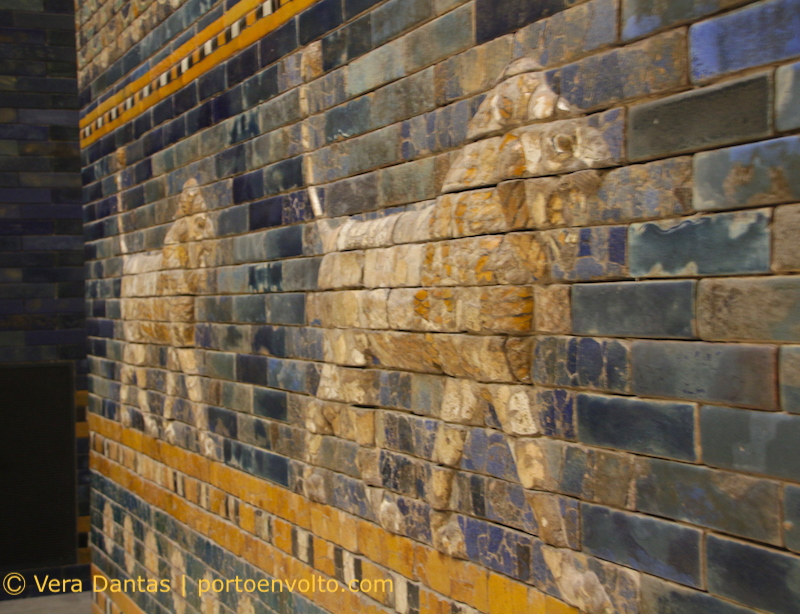 Museu de Pérgamo_leões da Babilónia
