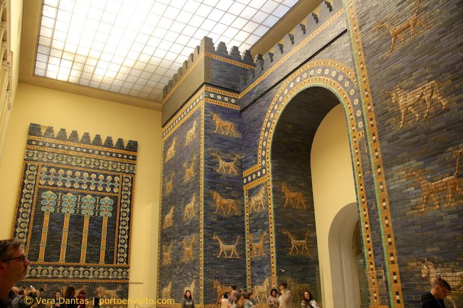 Museu de Pérgamo_Porta de Ishtar e Sala do Trono