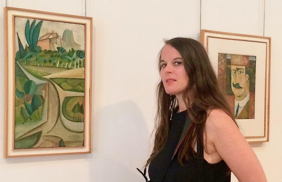 "Obras ""A Casa de Manhufe"" e ""Retrato de Francisco Ferreira Cardoso""de Amadeo de Souza-Cardoso"
