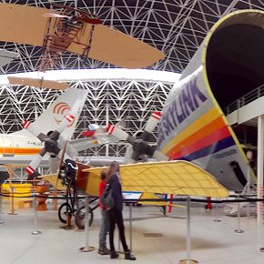Aeroscopia: dos aviões icónicos aos gigantes dos ares